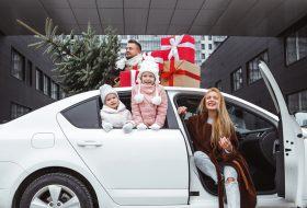 alkohol, karácsony, közlekedés, parkoló, ünnepek, utazás