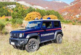carabinieri, jimny, rendőrautó, rendőrség, suzuki