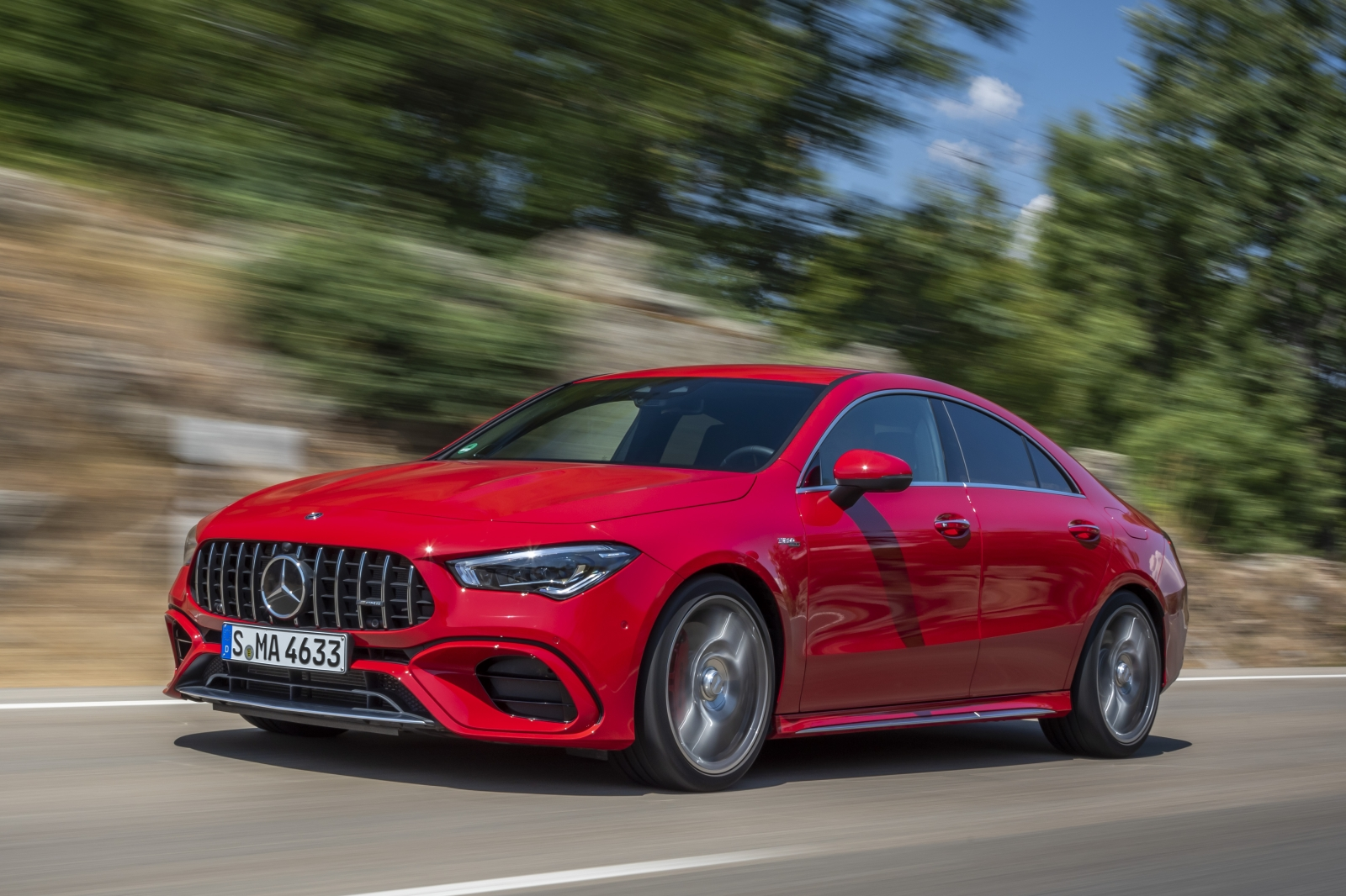 The new Mercedes-AMG performance compact cars Madrid 2019The new Mercedes-AMG performance compact cars Madrid 2019
