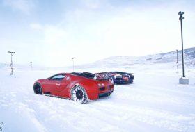 aventador, bugatti, drift, hó, lamborghini, tél, veyron