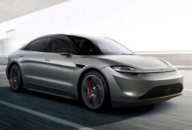 autós videó, elektromos autó, prototípus, sony, új tesla, vision-s