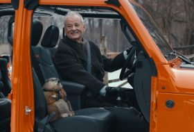 bill murray, gladiator, jeep, jeep gladiator, mormota nap