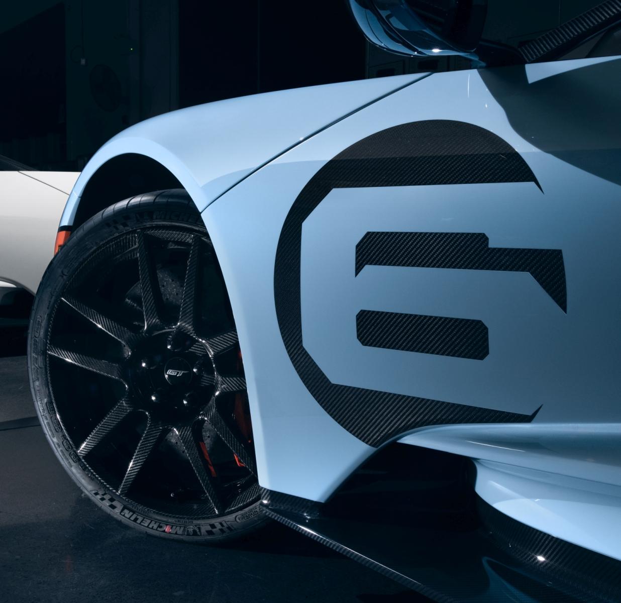 Ford GT Liquid Carbon és Heritage Edition