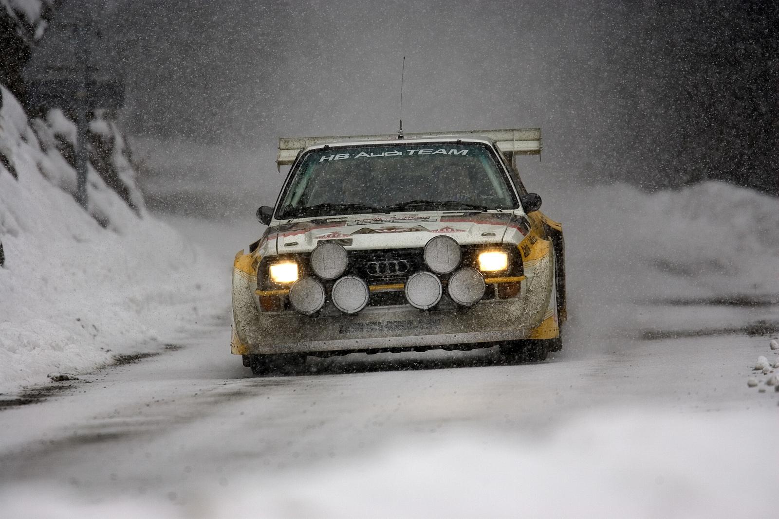 Audi S1 Quattro am Col De Turini