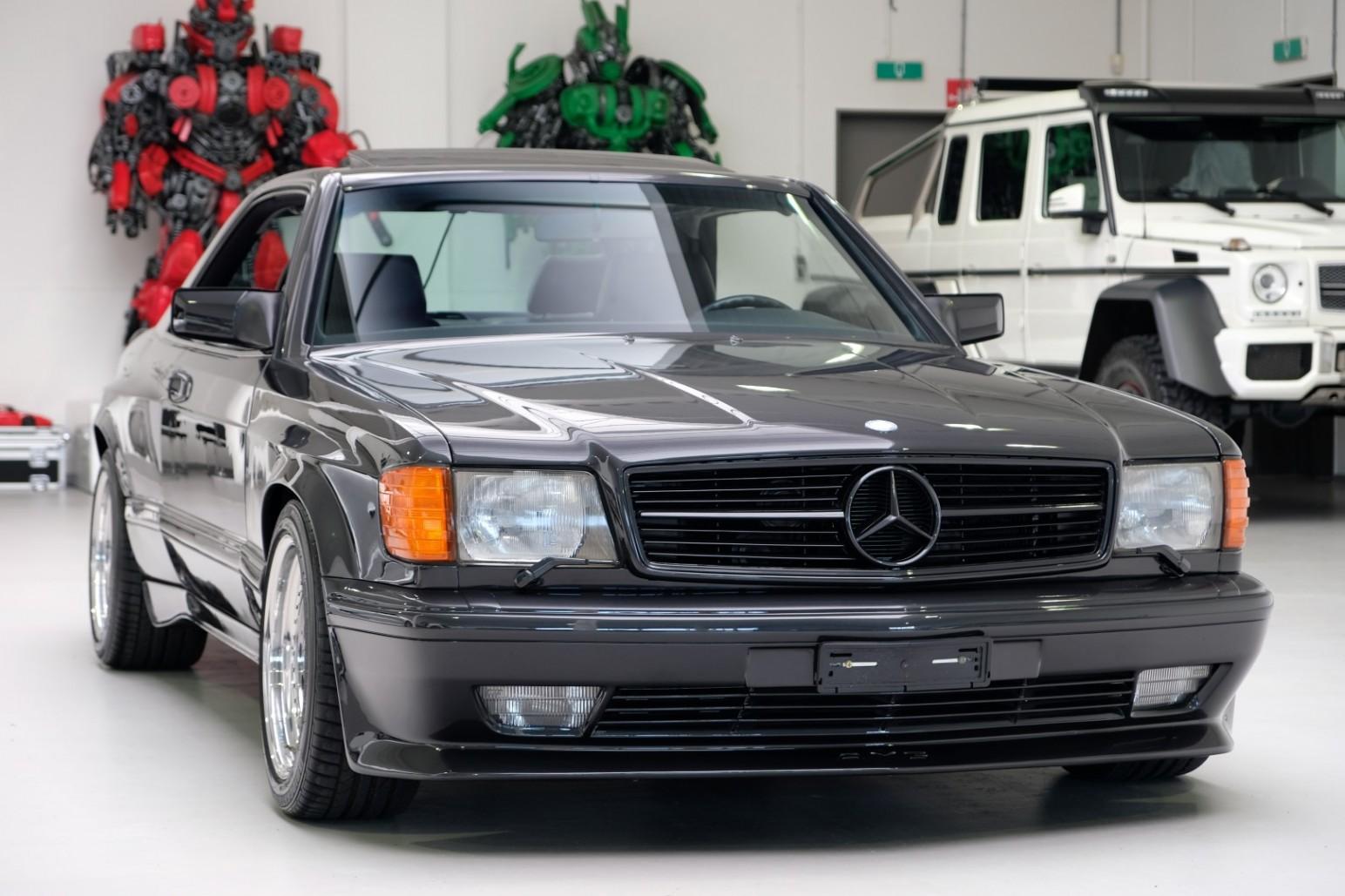 Mercedes-Benz 560 SEC 6.0 AMG widebody