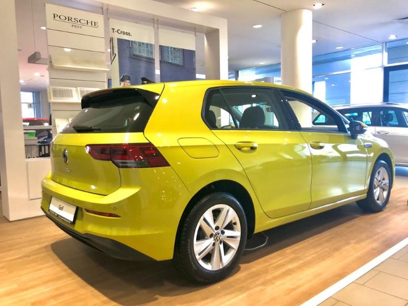 Már itthon is kapható az új Volkswagen Golf