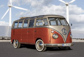 bulli, e-bulli, elektromos, kisbusz, samba bus, t1, volkswagen
