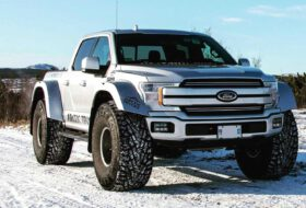 arctic trucks, f-150, ford, hó