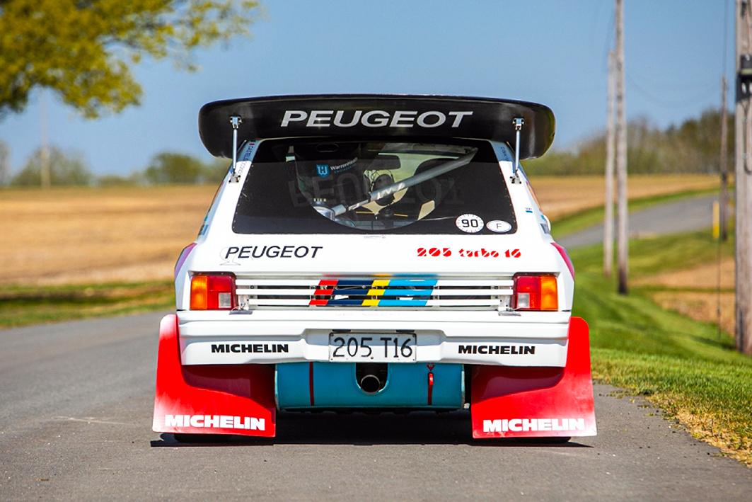 Peugeot 205 T16 Evolution 1 #S0007