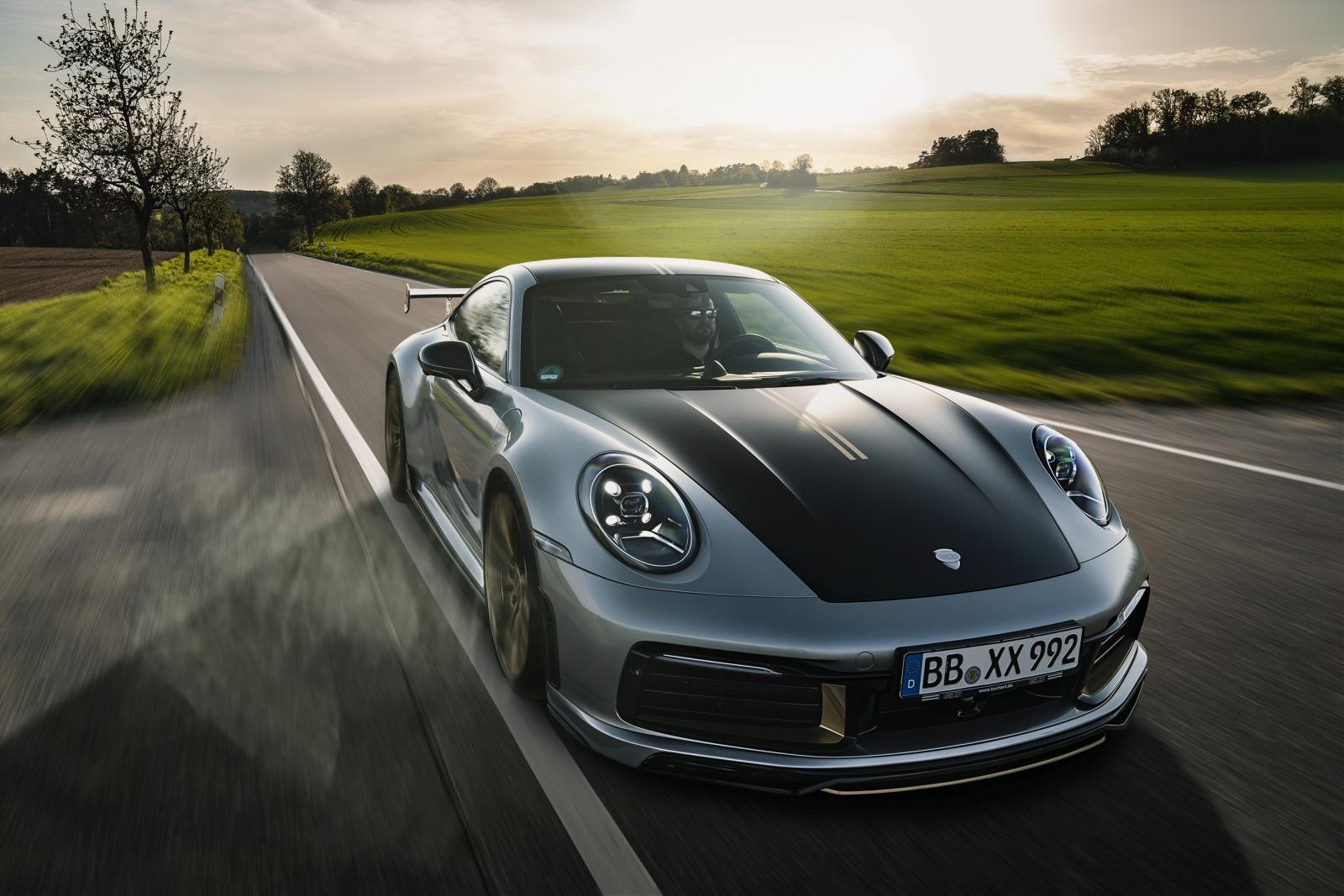 Techart Porsche 911 Carrera Coupe és Cabriolet
