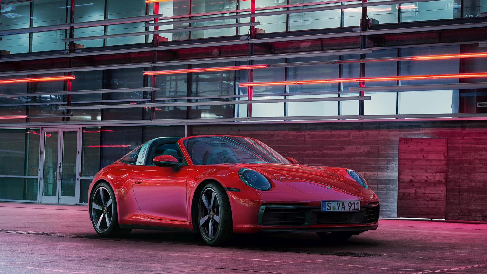 Porsche 911 Targa 4 és 4S