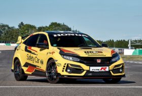 biztonsági autó, civic type r, honda, honda civic, safety car, type r limited edition, wtcr