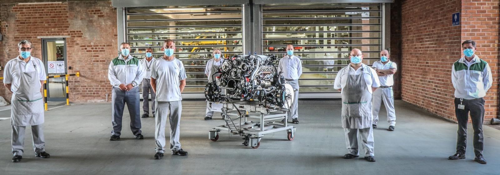 Az utolsó L-szériás Bentley V8-as