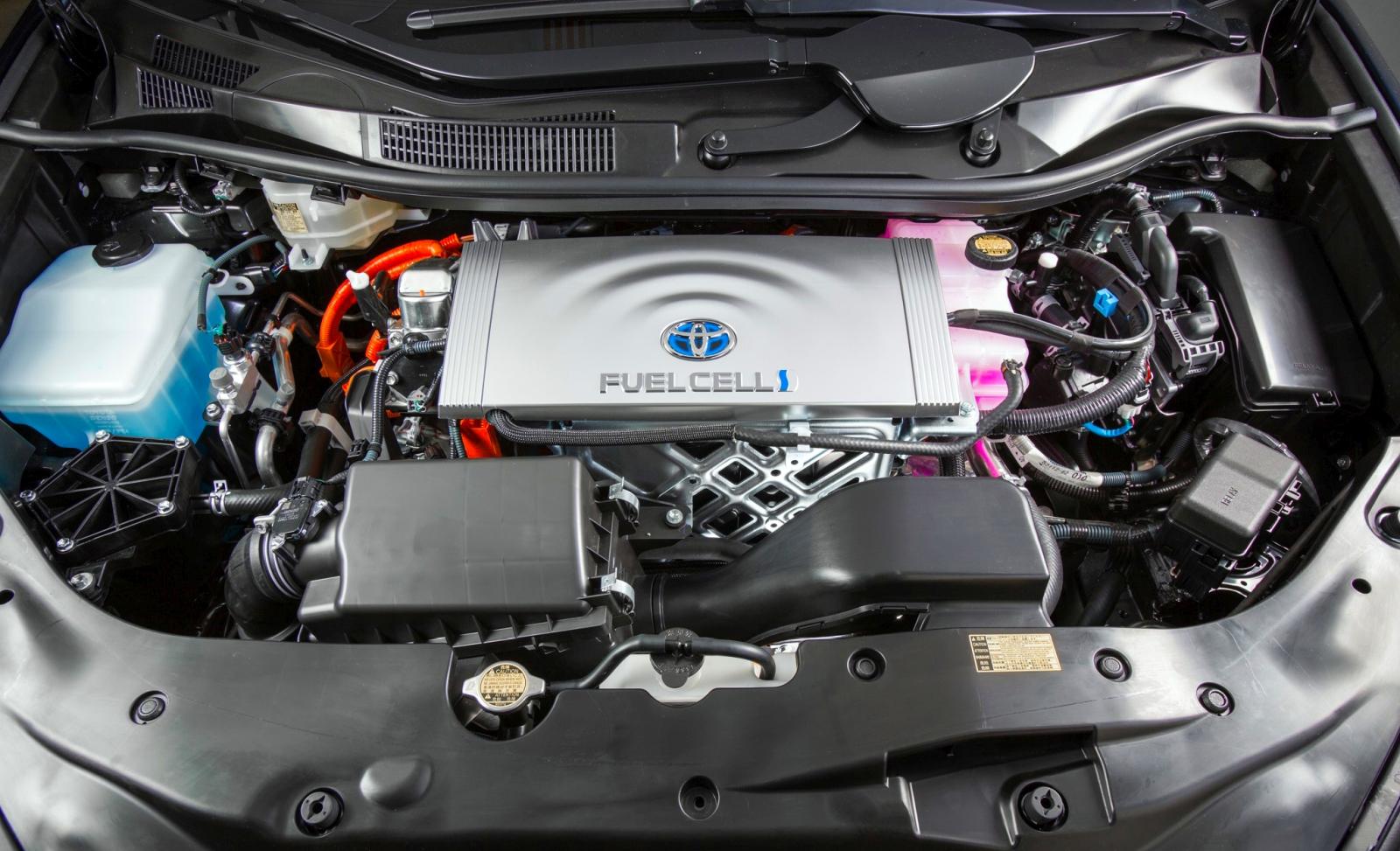 Toyota Miraik a tűzoltóságnál
