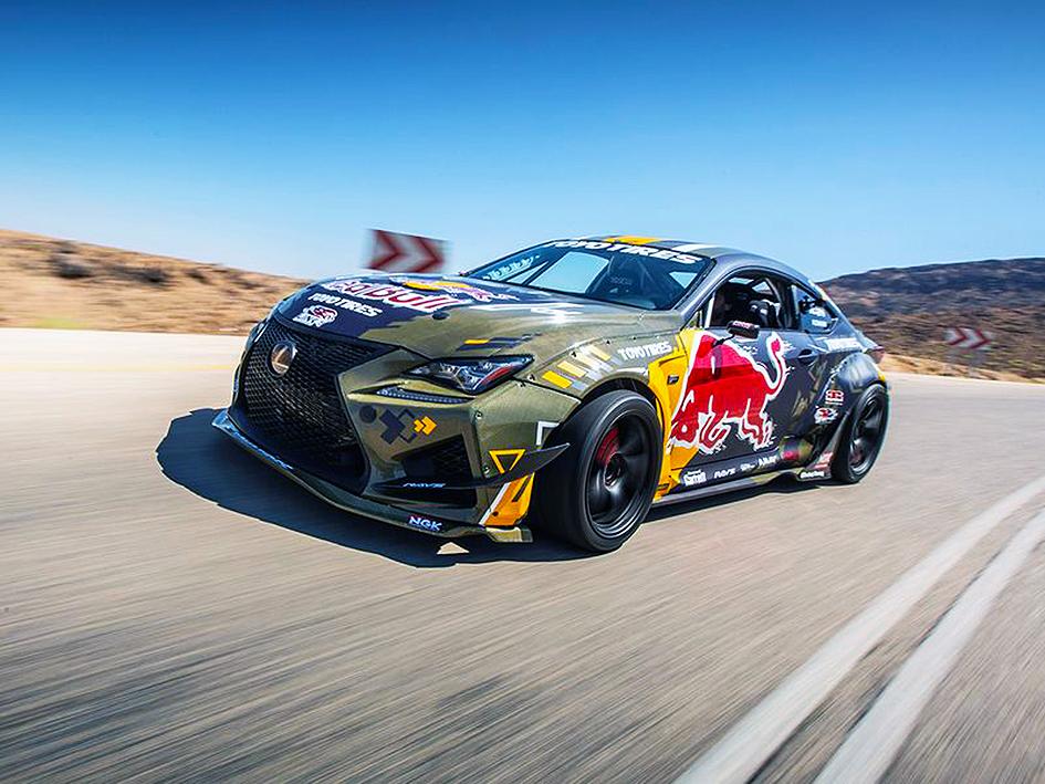 Al-Futtaim motors drifter Lexus RC F