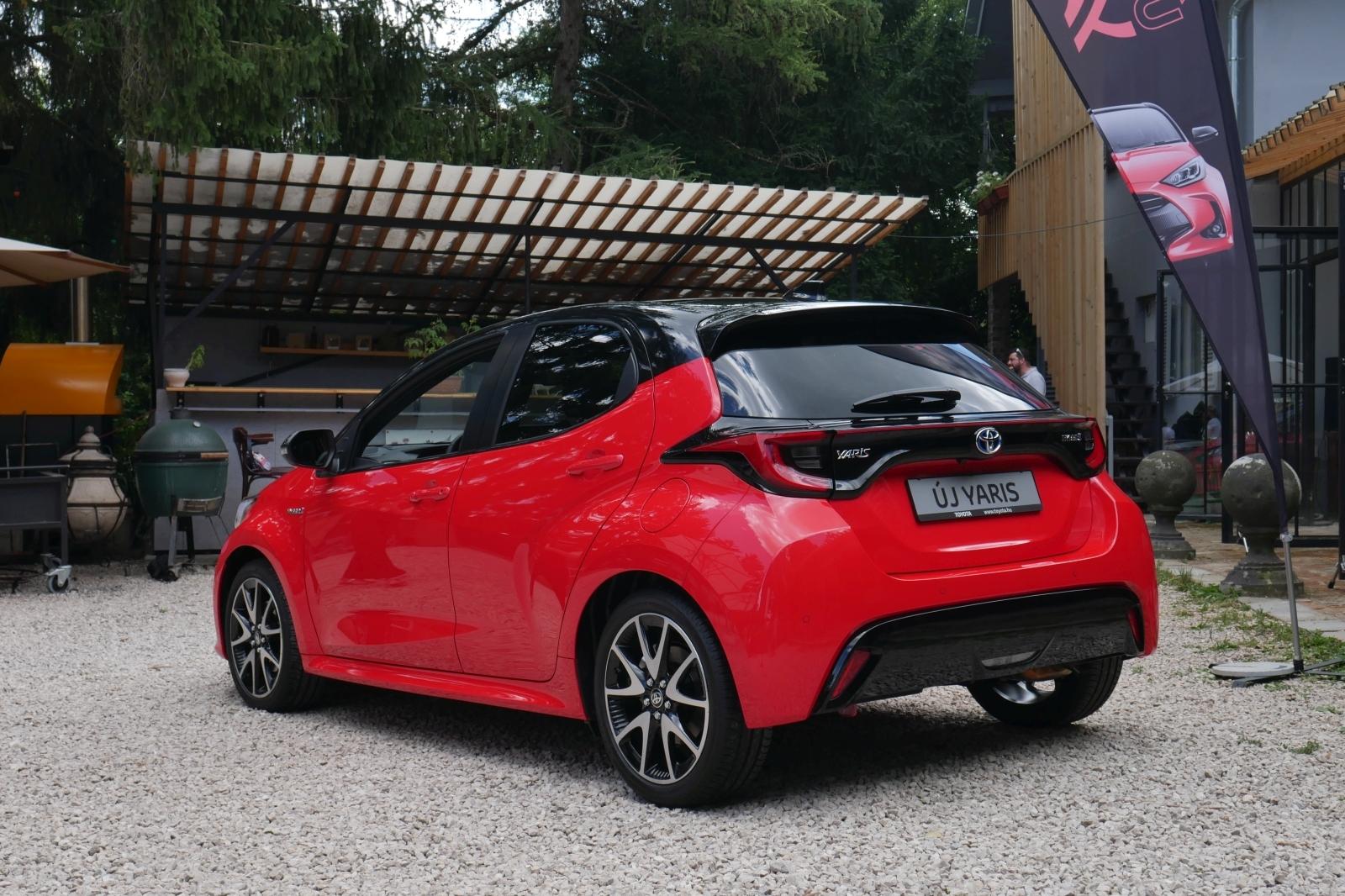 Hazánkban az új Toyota Yaris