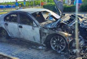 autótűz, fertőtlenítés, kézfertőtlenítő, tűzeset