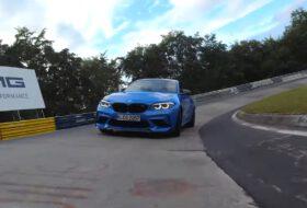 autós videó, bmw m2 cs, nürburgring