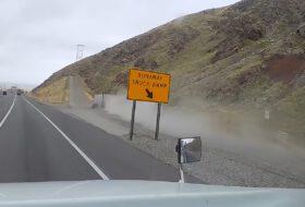 amerika, autópálya, autós videó, baleset-megelőzés, balesetveszély, kamion