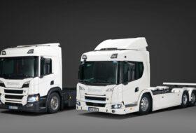 elektromos, fuvarozás, hibrid, scania, teherautó, tehergépkocsi