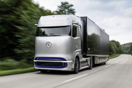 elektromos, genh2, hidrogén, kamion, mercedes, üzemanyagcella