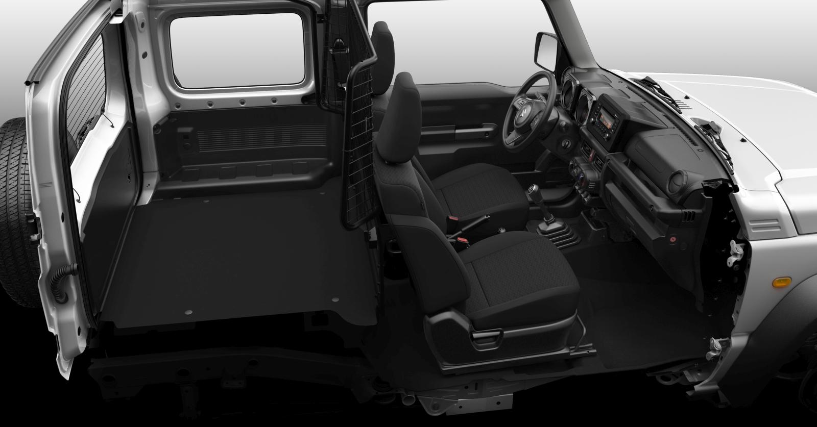 Suzuki Jimny könnyű haszonjármű