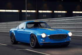 cyan racing, p1800, restomod, volvo
