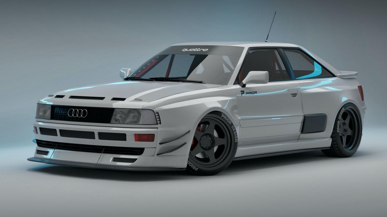 Prior Design Audi 80 Coupe widebody