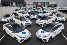 fenntartható, hidrogén, mirai, taxi, toyota, toyota mirai, üzemanyagcella