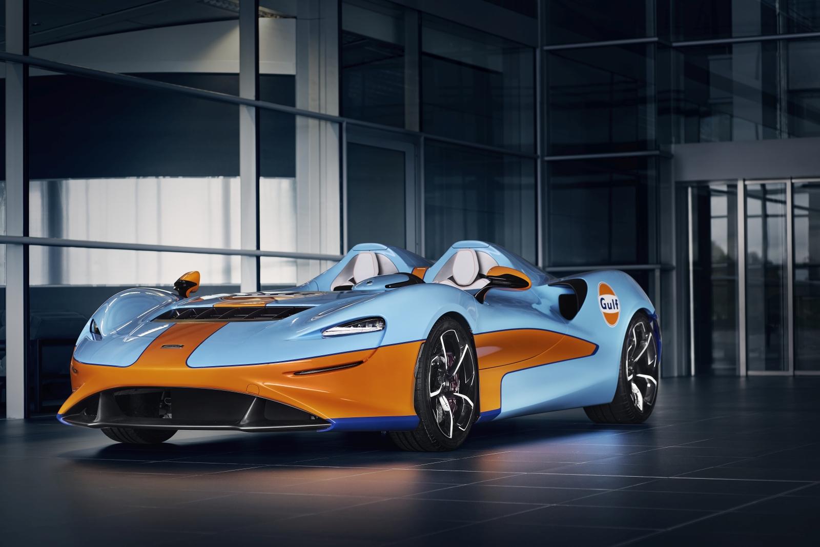 McLaren Elva Gulf Theme by MSO