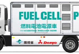 áramfejlesztő, denyo, hidrogén, toyota, üzemanyagcella