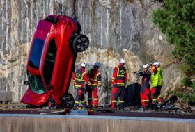 baleset, karambol, mentőszolgálat, volvo