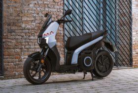 elektromos, escooter, escooter 125, robogó, seat, seat mo