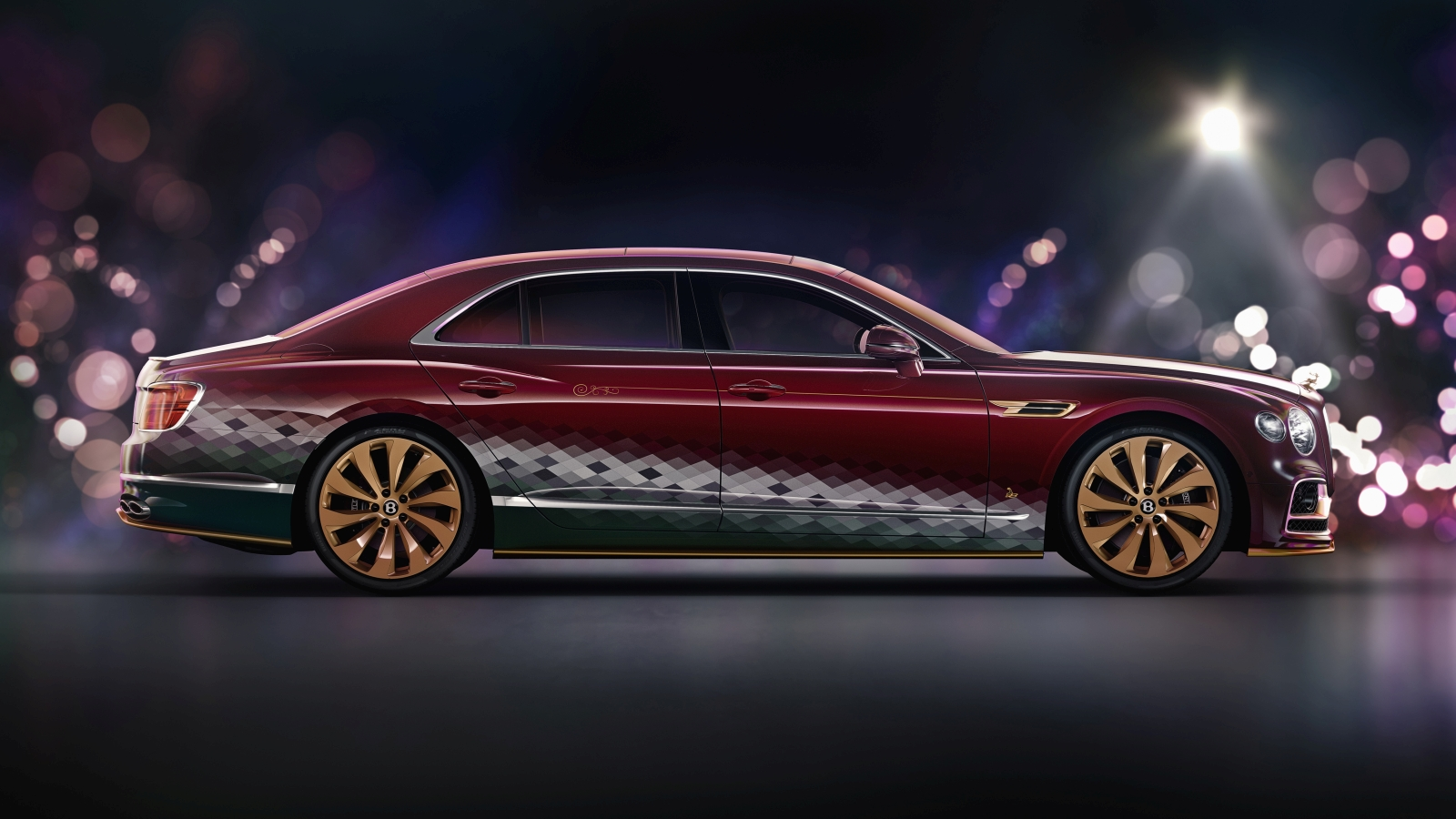 Bentley Flying Spur V8 Reindeer Eight