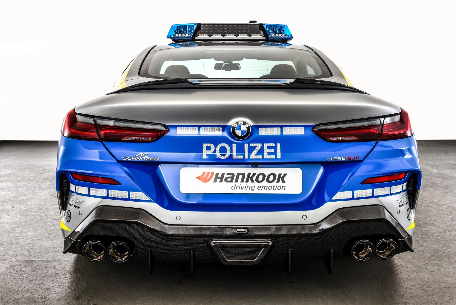 Tune it! Safe! Police BMW M850i xDrive by AC Schnitzer