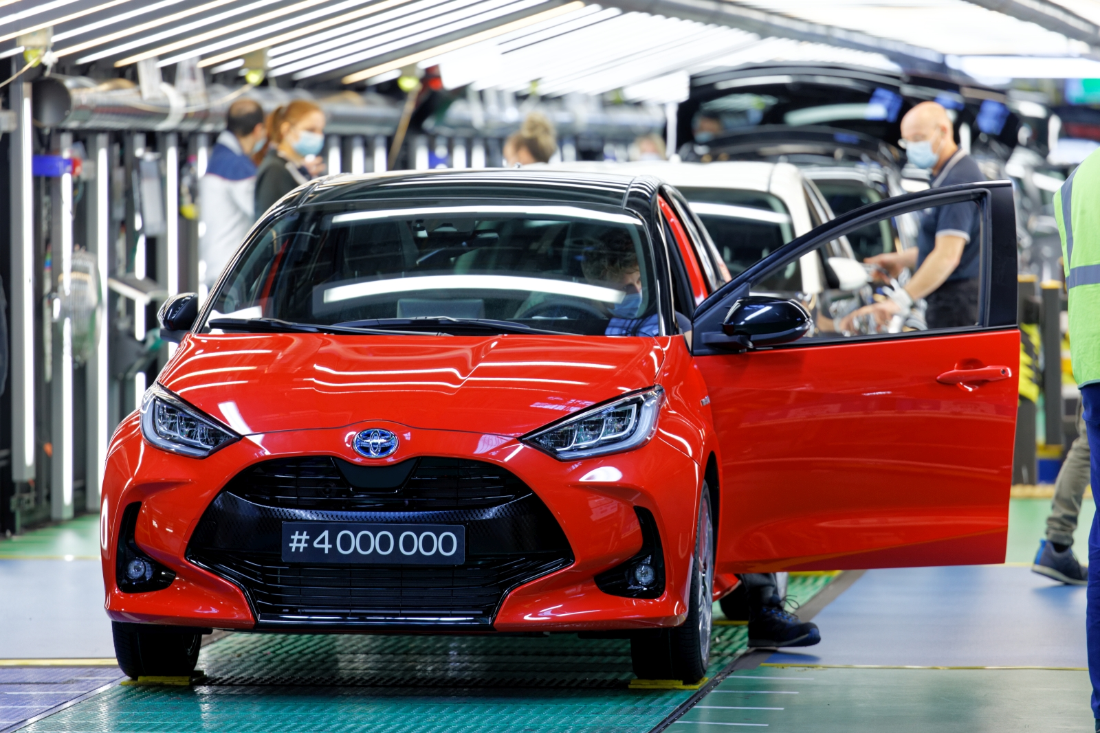 Yaris 4 Millions . Toyota TMMF. Onnaing.