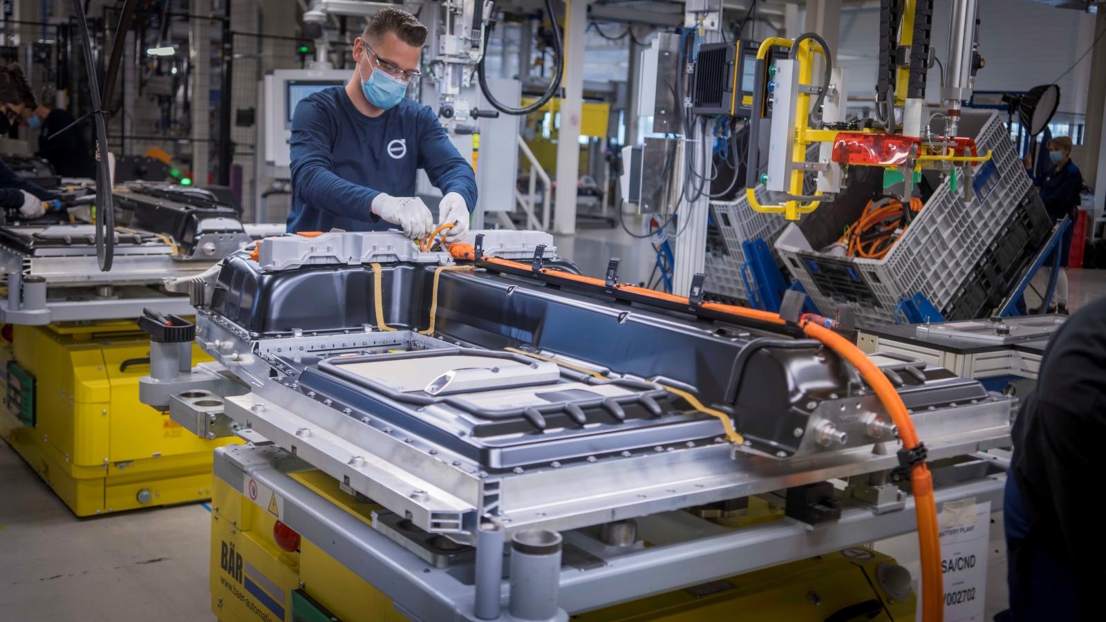 Volvo genti gyár