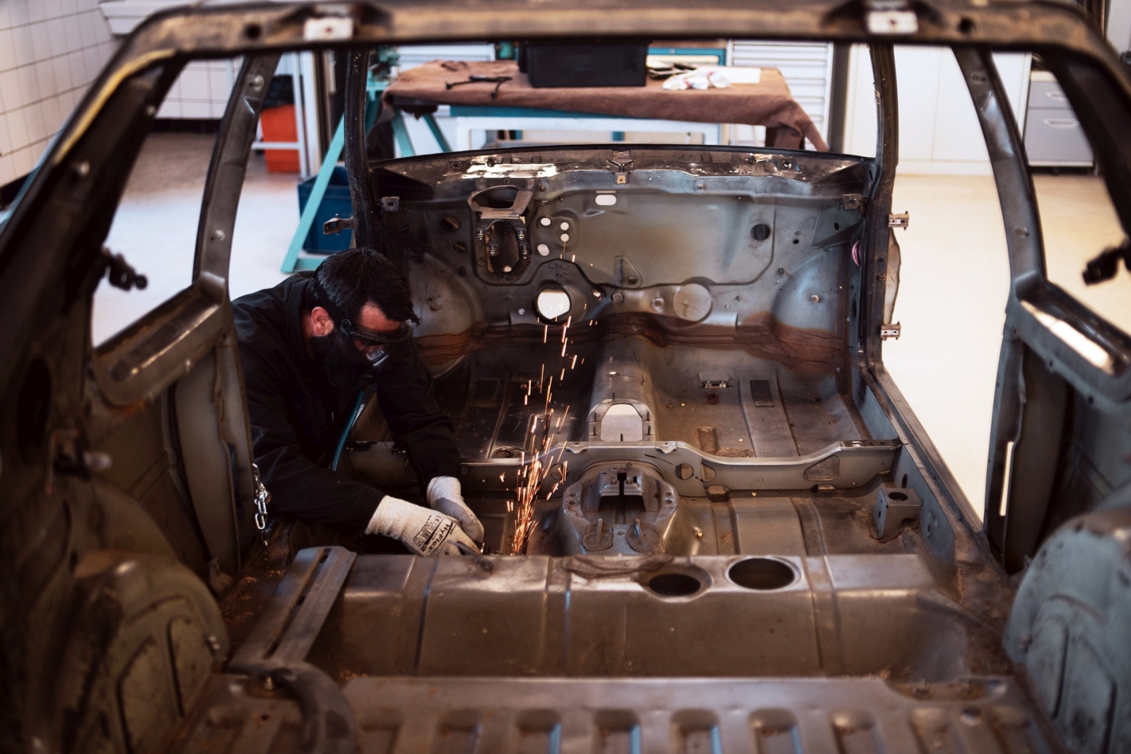 Peugeot 205 GTI felújítás