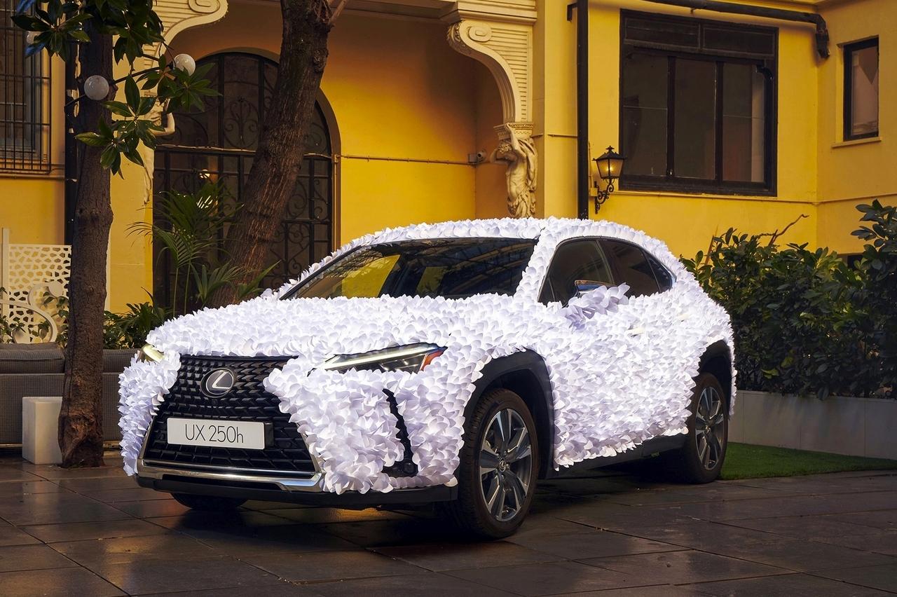 Lexus UX Art Car