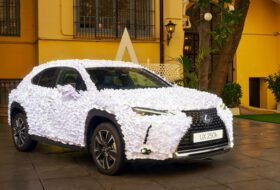 art car, lexus, lexus ux