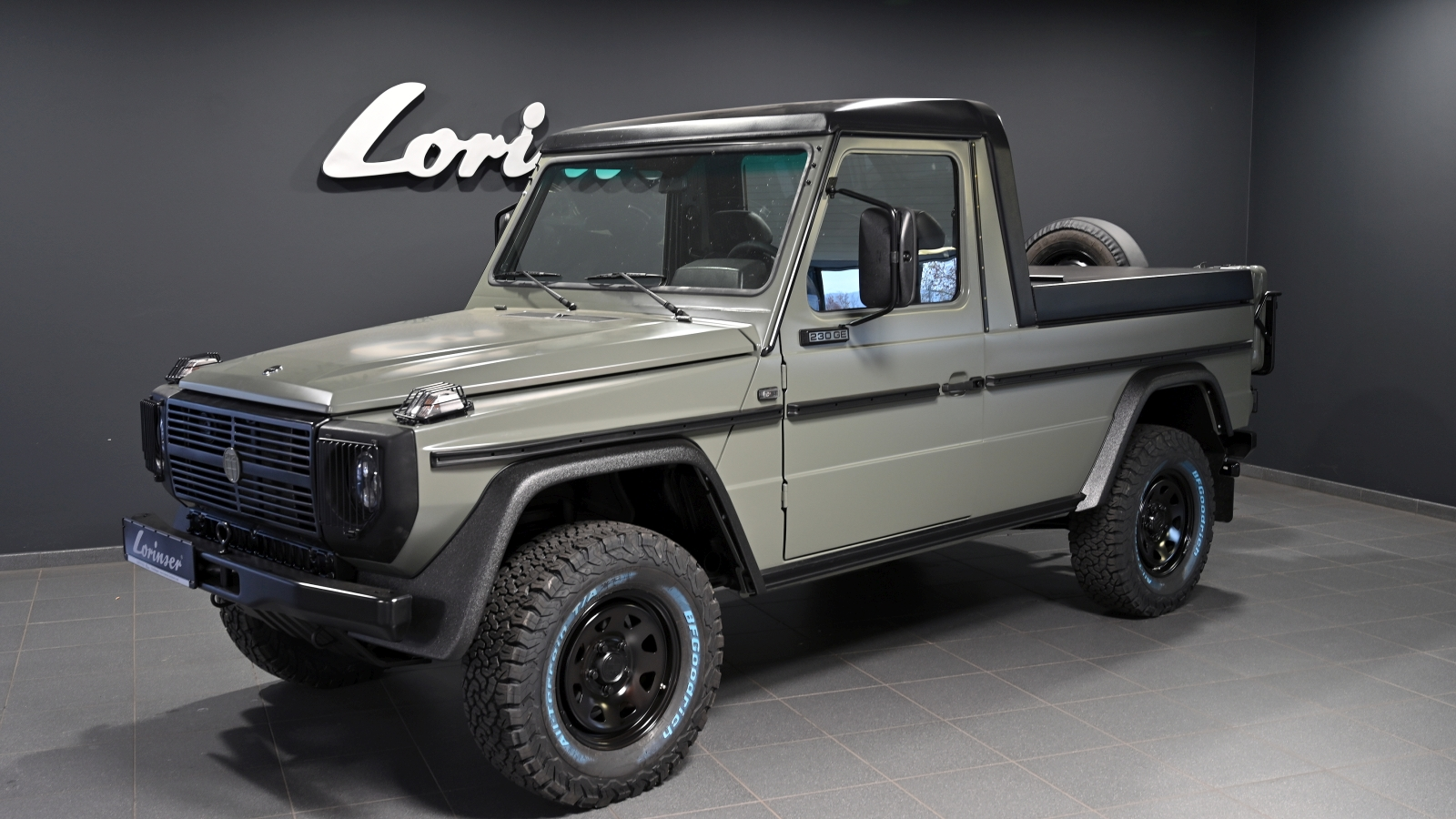 Lorinser Puch G pickup