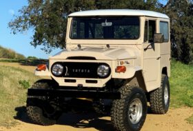 electric gt, land cruiser, land cruiser j40, toyota