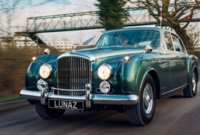 bentley, continental, elektromos, flying spur, lunaz