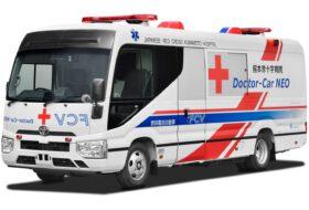 elektromos, hidrogén, mobil kórház, toyota, üzemanyagcella