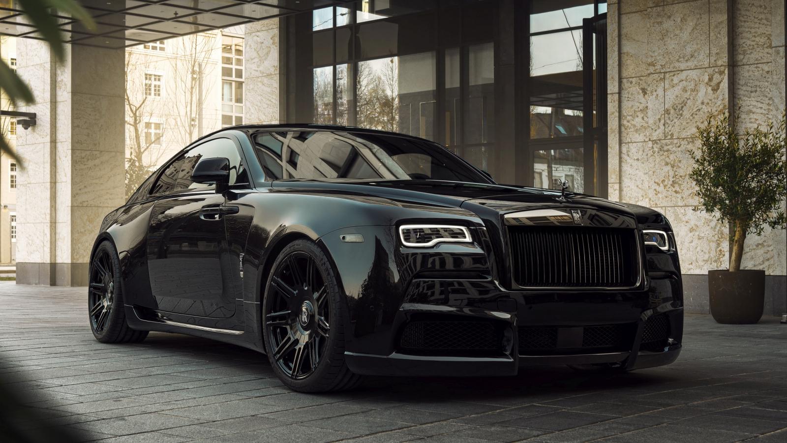 Spofec Overdose Rolls-Royce Black Badge Wraith