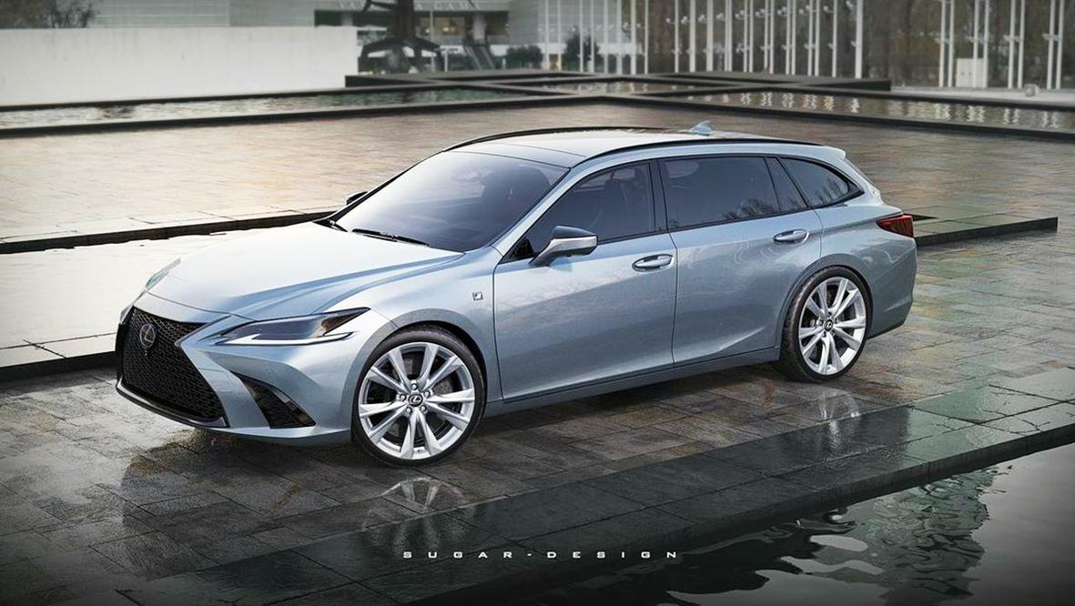 Lexus kombi látványtervek