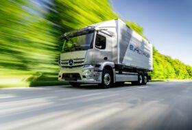 actros, e-mobilitás, e-teherautó, elektromobilitás, fuvarozás, kamion, mercedes-benz