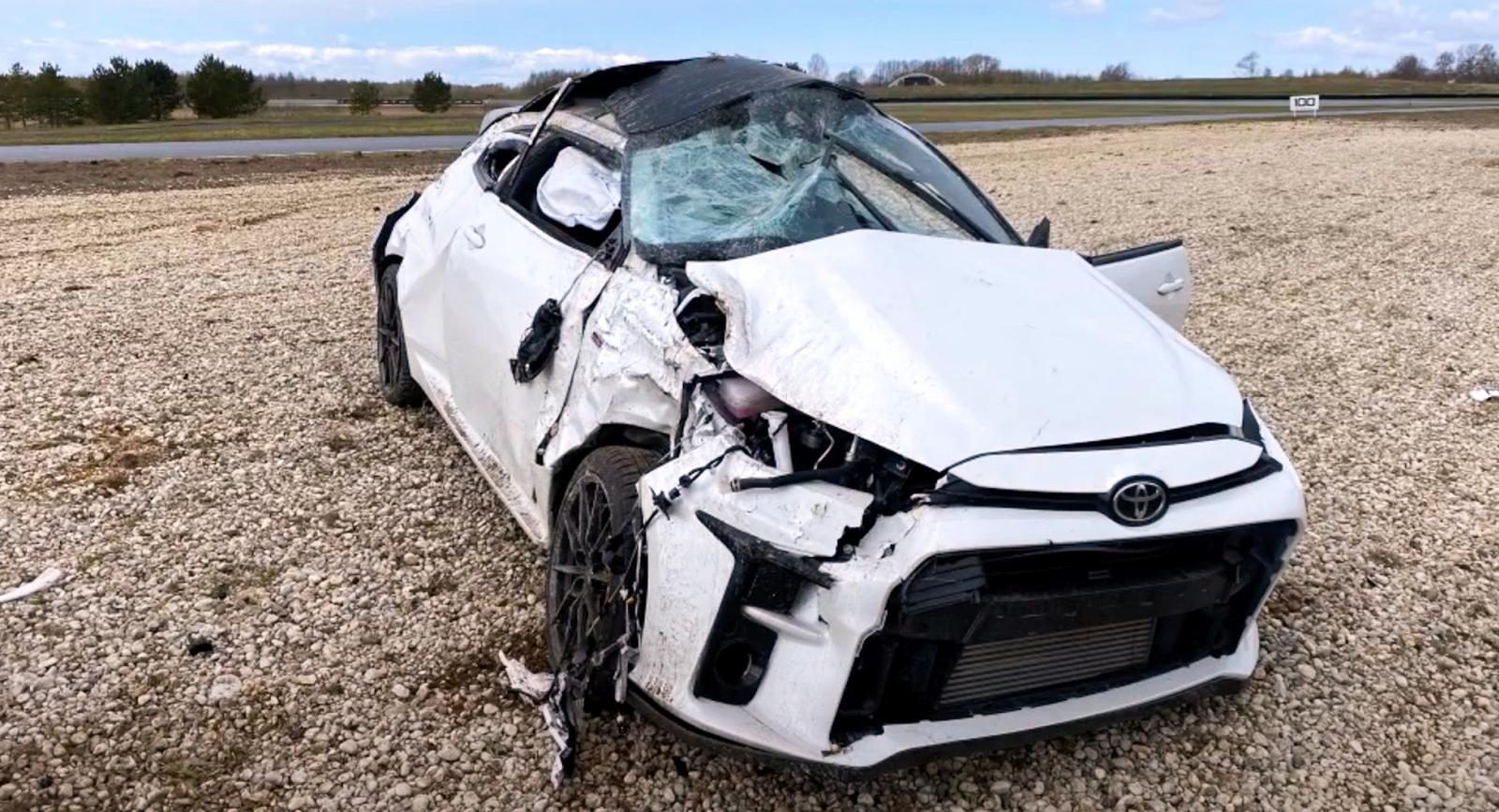 Toyota GR Yaris pályanap