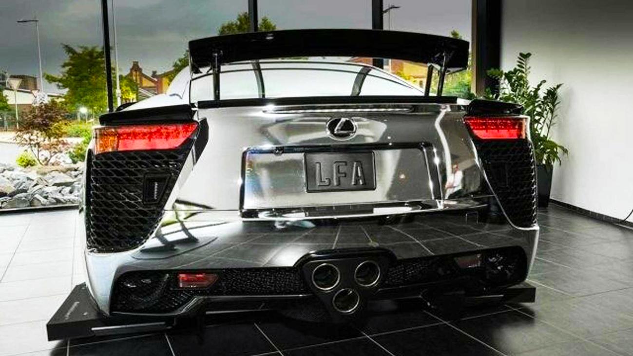 Króm Lexus LFA