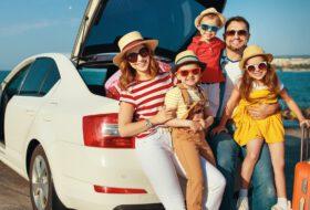 biztonság, gumiabroncs, gyerekülés, légkondicionáló, utazás